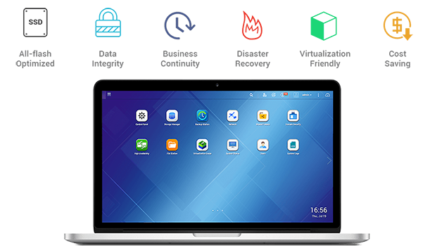 QES (QNAP Enterprise Storage) 2.1.1 operating system