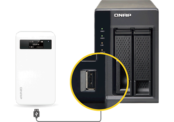 Seamless synchronizes with the Turbo NAS