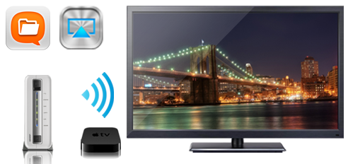 Enjoy your Videos via AirPlay