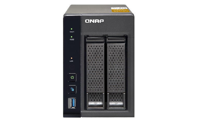 QNAP TS-253A 2-Bay QTS-Linux Combo NAS with 4GB (2 x 2GB) RAM