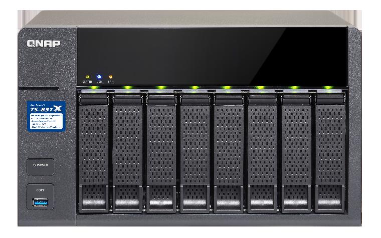 QNAP TS-831X | QNAPWorks com